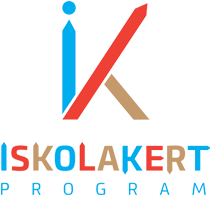 Iskolakert Program Logo