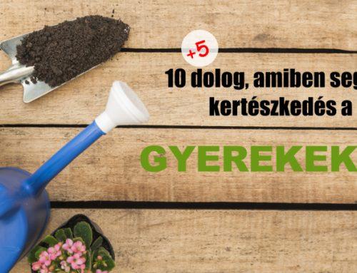 10+8 dolog, amiben segíti a kertészkedés a gyerekeket